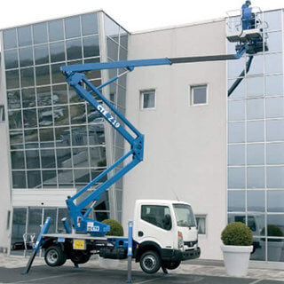 Truck Mounted Boom Lift - Operated